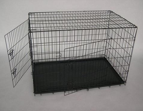 zwarte binnen bench voor groot konijn