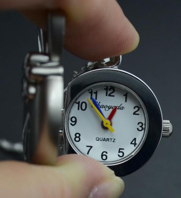 konijnen horloge hanger