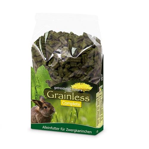 JR Grainless compleet voer voor dwergkonijnen