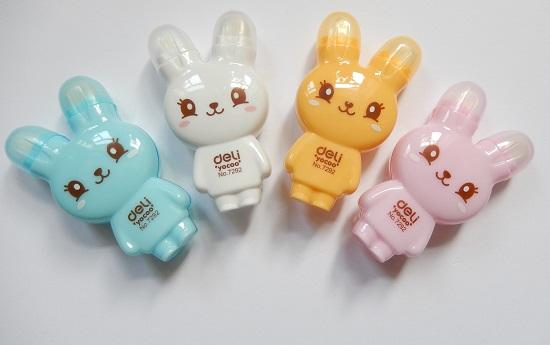 correctie lint en gum konijn