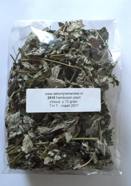 frambozen blad 75 gram