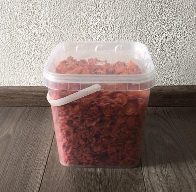 carrot slices 1.3 kg  + emmer