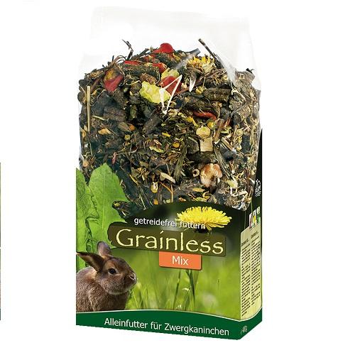 JR Grainless mixx voor dwergkonijnen