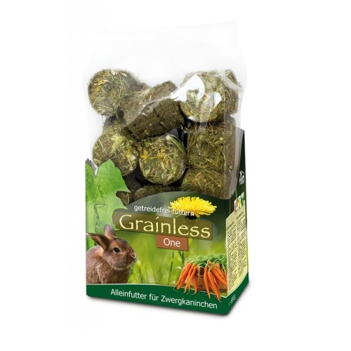 Konijnen voer JR Grainless one voor dwergkonijnen