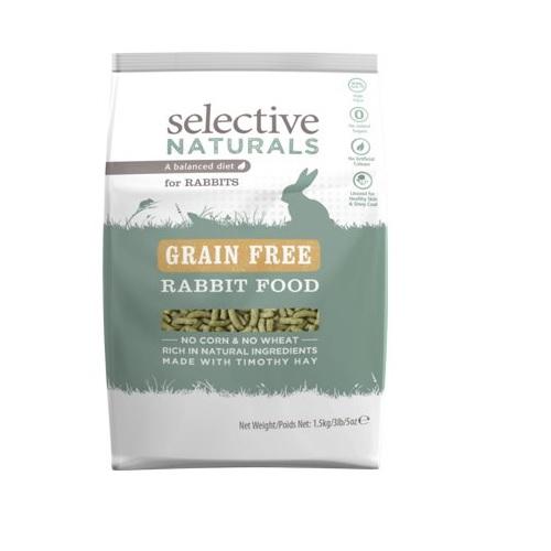 """<h1><span style=""""color:#A9A9A9;""""><span style=""""font-size:14px;"""">Konijnen voer grain free selective.</span></span></h1>"""