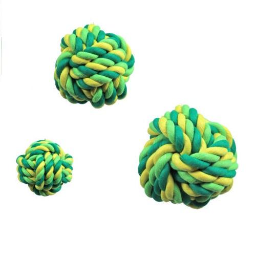 touwbal geel/groen L