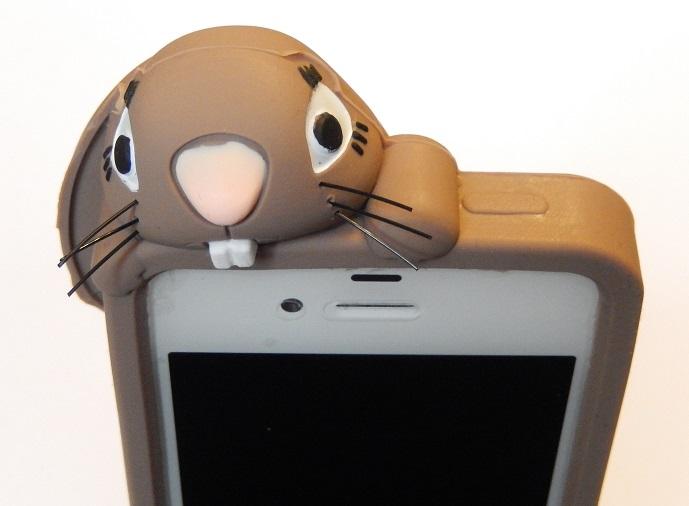 i phone 6 /6s hoesje konijn bruin