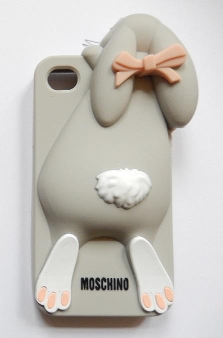 i phone 5/5s hoesje konijn grijs