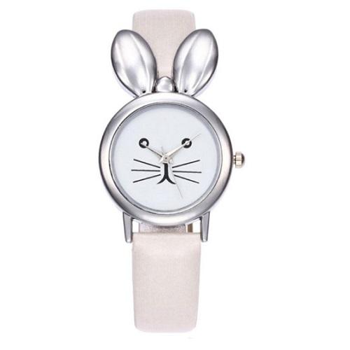 konijnen horloge wit