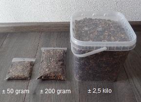 Johannesbrood 1 kilo.