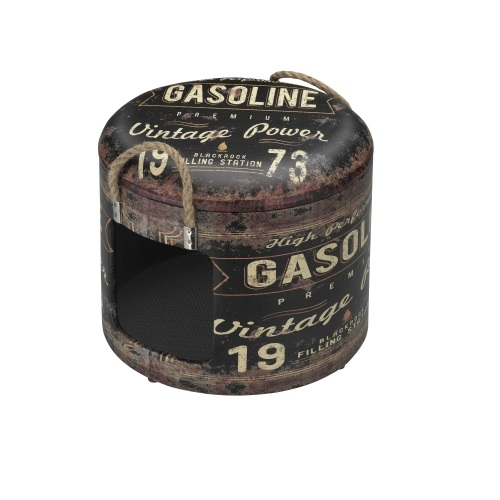 industrial ton vintage bruin grijs S