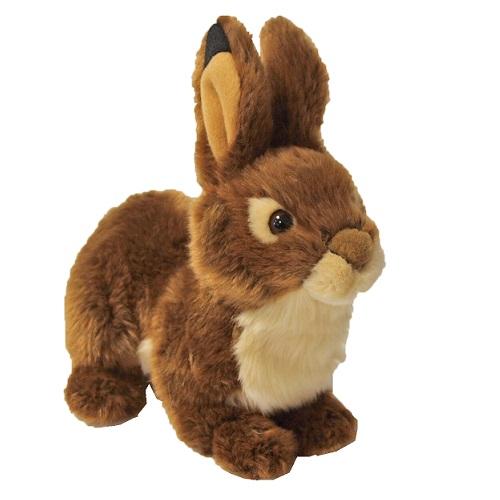 speelgoed konijn bruin staand
