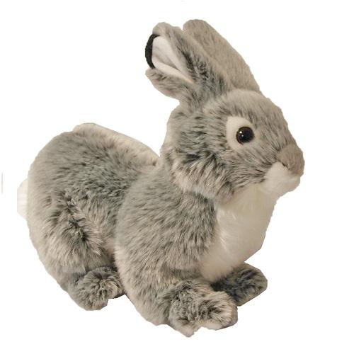 speelgoed konijn wit staand