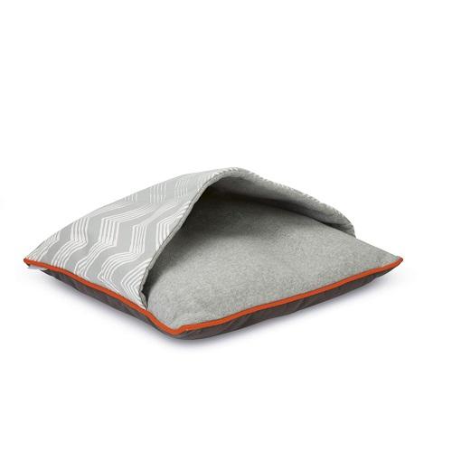 vlaamsereuzen slaapzak grijs oranje XL