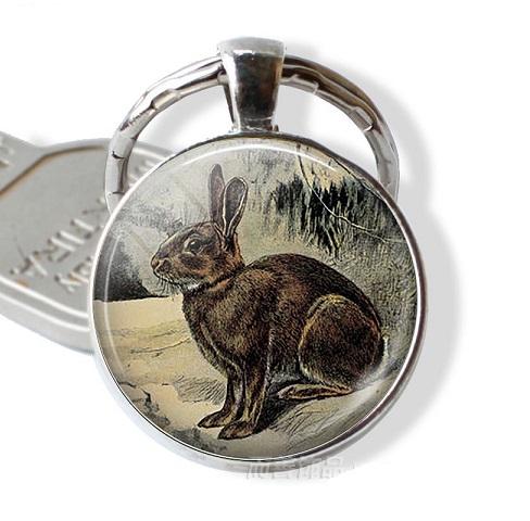 sleutelhanger konijn 4