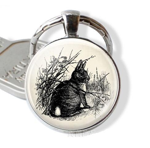 sleutelhanger konijn 5