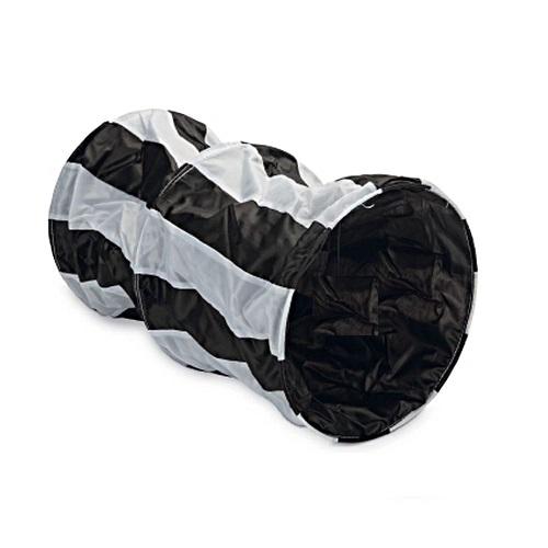zwart witte streepjes tunnel kort