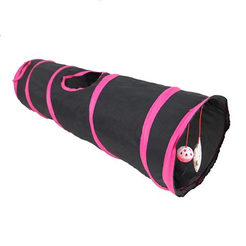 zwart roze grote tunnel