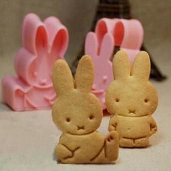 2 konijnen koekjes vorm