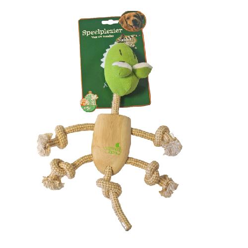 speelgoed konijn houten krokodil