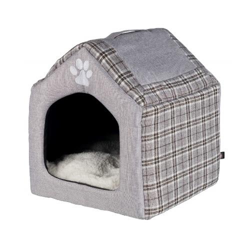 grijs konijnen huis groot