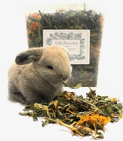 1 emmer konijnen super mix