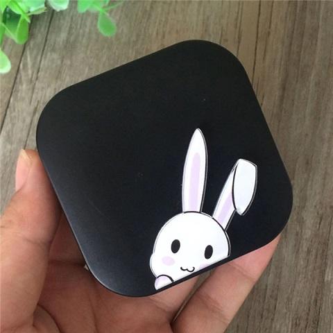 Lenzendoosje konijn  zwart 1