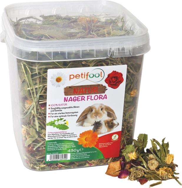 konijnen planten/  nager flora