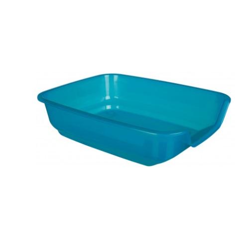 konijnen toilet lage instap blauw
