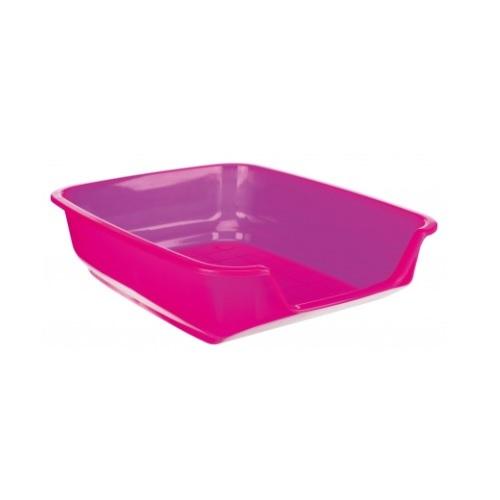 konijnen toilet lage instap roze