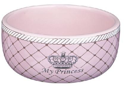 prinsessen voerbak roze