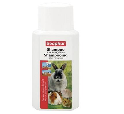 shampoo voor konijn en cavia.