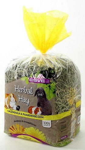 kruiden  hooi Calendula en Paardenbloem geel