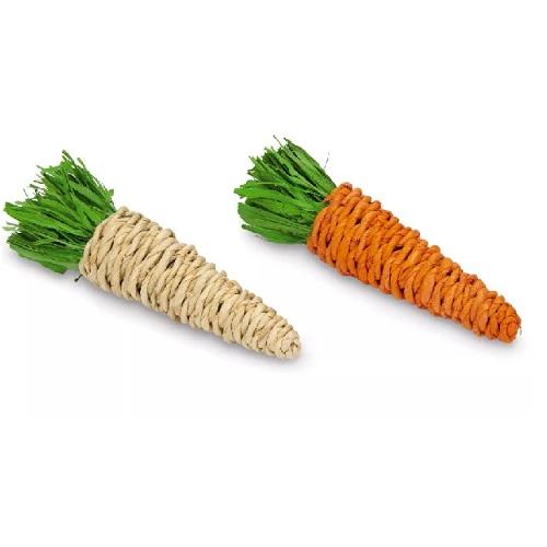 1 speelgoed wortel van mais blad.