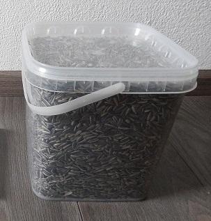 zonnebloempitten 1,8 kilo