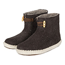 Vilten herenslof High Boots brown