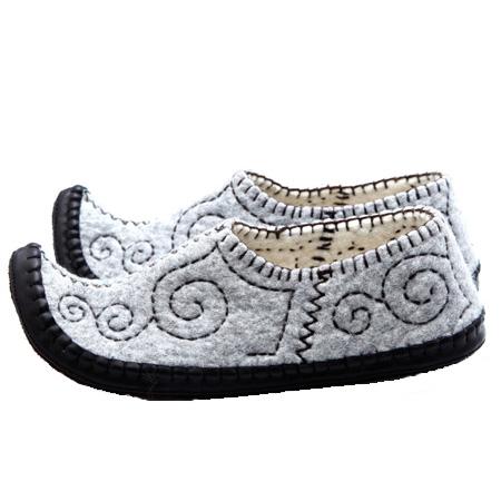 Damen-Filzschuhe Jak slipper