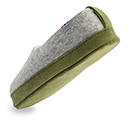 Herren-Filzschuhe Comfort Grün