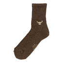 Wollen sokken Yak Brown