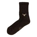 Wollen sokken Yak Dark Brown