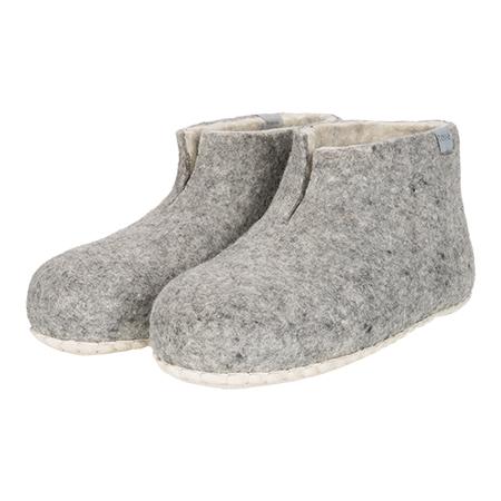 Herren-Filzschuhe Grey Mule
