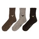 Wollen sokken Yak Grey
