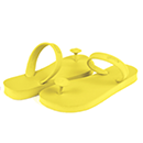 Gurus slipper yellow