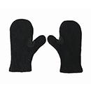 Filz Handschuhe Schwarz