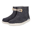 Vilten herenslof  High Boots grey