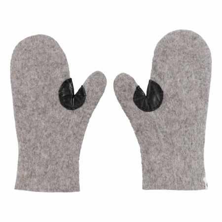 Filz-Handschuhe Grau