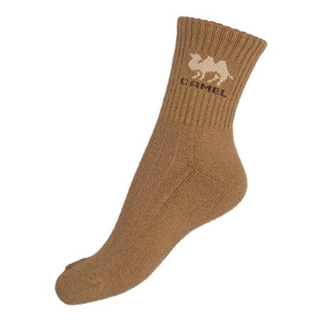 Socken Kamel Braun