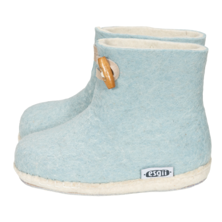 Vilten kinderslof Boots Fresh blue