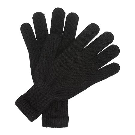 Kaschmir Handschuhe Schwarz