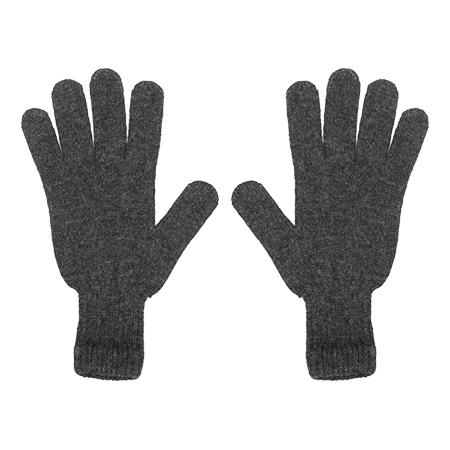 Kaschmir Handschuhe Grau